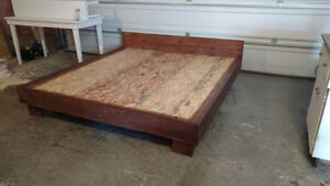 Solid Wood Bed Frame - Free Delivery!