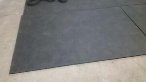 Tapis en caoutchouc / Rubber mats