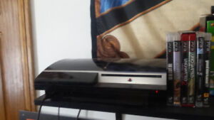 Ps3 80 gig with 6 games