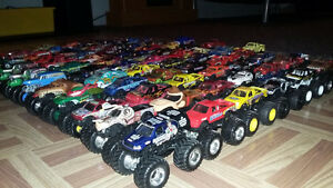 Monster jam 1:64 diecast collection