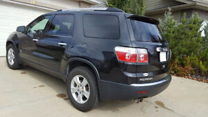 4 year extended warranty. 2012 GMC Acadia All Wheel Drive AWD