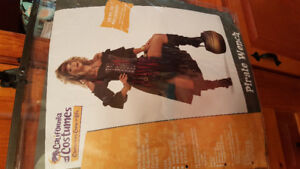 Pirate Wench Costume XL12-14 New