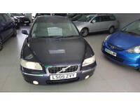 2005 Volvo S60 Blue MK1 2.5 T SE Geartronic 4dr 2 keys Long Mot 09/2018
