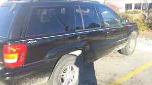 Jeep grand Cherokee limited part out