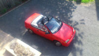 1992 Geo Metro LSi Convertible, RED, IMPECCABLE, NO RUST
