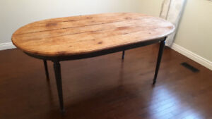 """Rustic Dining Table 73"""" x 40"""" - Kitchen, charming"""