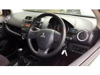 2013 Mitsubishi Mirage 1.2 2 5dr Manual Petrol Hatchback