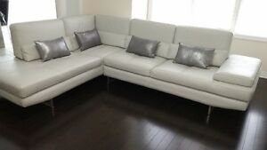 Leather Sectional Sofa (almost new)