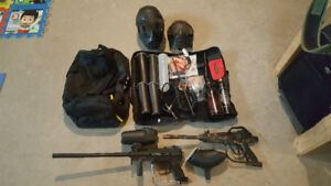 Paintball markers and more