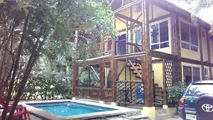 Bambu House in Samara, Costa Rica