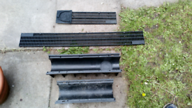 CLARK-DRAIN DRAINAGE CHANNEL AND GRATE