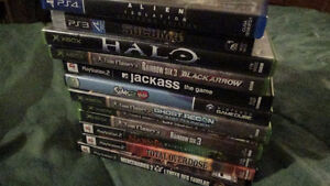 Video Games for Sale!!! All in good condition!