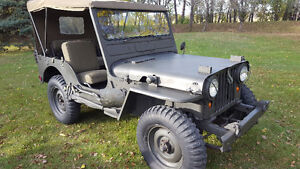 1952 JEEP M38 BUILT BY FORD