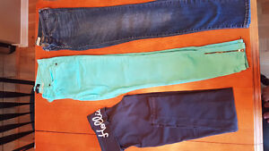 Small Hollister Yogas and Jeans! $20 for all! BRAND NAME MUST GO