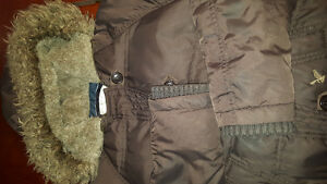 Girls size small American Eagle winter bomber jacket