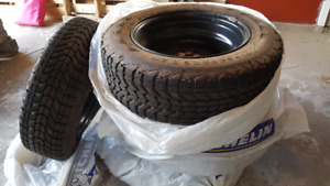 Set of Winter Tires with Rims