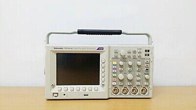 Tektronix Tds3014c 100mhz 4ch Oscilloscope With P6100 Probes