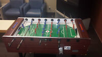 baby foot soccer table work with cash so you et your money back