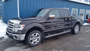 2013 Ford F-150 SuperCrew Lariat 4x4 Pickup Truck