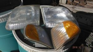 full set headlight and marker light pots