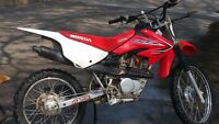 Trade my 2013 crf100f for bigger bike