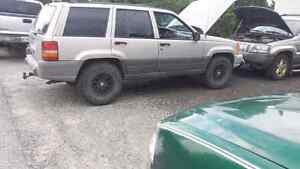 I got 2 1997 jeep Cherokee trade for plow or plow truck