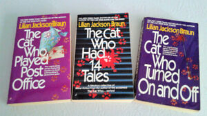 The Cat Who Series by Lilian Jackson Braun - 3 books