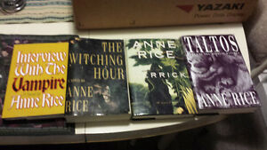 Anne Rice 4 books Interview with a Vampire First editions