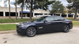 2012 BMW 7-Series 750i M Package Sedan