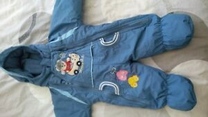 Perfect condition baby boy snow suit