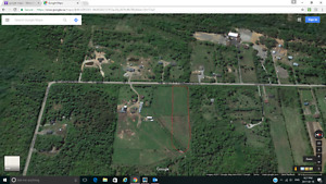 Cleared lot for sale Townline Rd in SSM