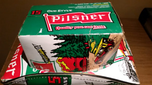 Pilsner Beer Box Cowboy Hat (Roughrider edition!)