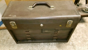 Kennedy Machinist chest with All Tools Machinist Metalwork Lathe
