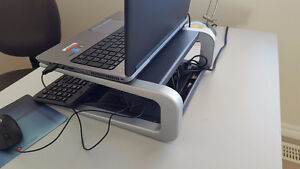 Notebook, laptop or LCD monitor stand