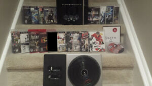**** Great 160 GB PS3 Bundle All Cords Controller 18 Games ****