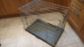 Dog crate cage large