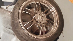 17 inch Fast Rims Low Profile Tires