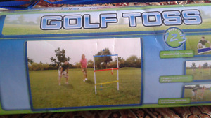 Golf toss game / new in box