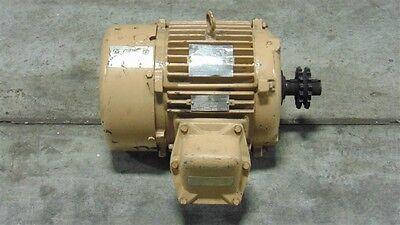 Used 3 Hp Marathon Electric Motor 213t Frame 230460v 1150 Rpm