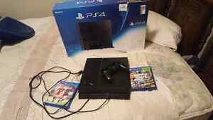(NEW) PS4 with 12 months left online and two games Kitchener / Waterloo Kitchener Area image 1