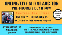 Huge Silent Auction (On line bids!) to support a local family