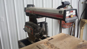 Scie Radial 10 pouces, Radial Saw 10 inches