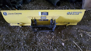 JD 54 inch quick hitch blade