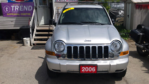 2006 jeep liberty 4x4 limited edition fully loaded London Ontario image 3