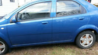 2007 Chevrolet Aveo gd for parts