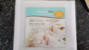 Breathable Mesh Crib Liner - NEW IN PACKAGE