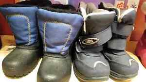 Boys boots some never worn all very warm Belleville Belleville Area image 3