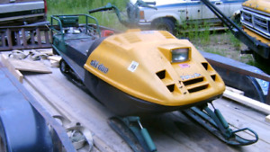 Wanted Tundra snowmobile for parts or fix up. reasonably priced