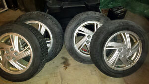 Tires with Rims Kitchener / Waterloo Kitchener Area image 1