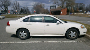 Chevrolet Impala 2009 with winter tires